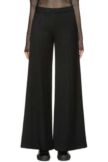 Acne Studios - Black Gabardine Melora Trousers