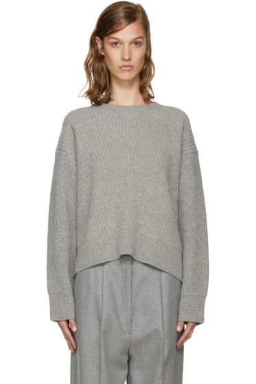 Acne Studios - Grey Wool Java Sweater
