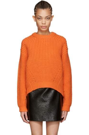 Acne Studios - Orange Wool Hira Sweater