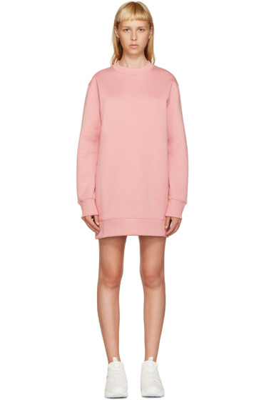 Acne Studios - Pink Fleece Carola Pullover Dress