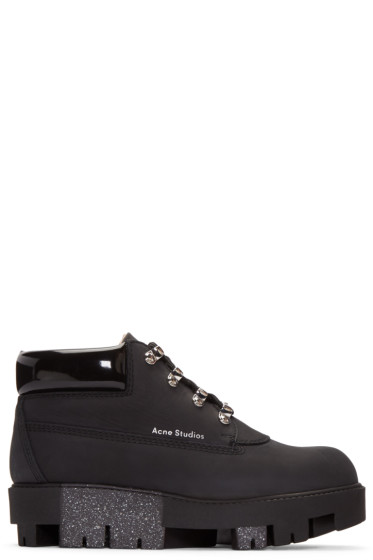 Acne Studios - Black Tinne Low Boots