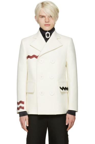 Acne Studios - Ivory Ribbon Jake Coat