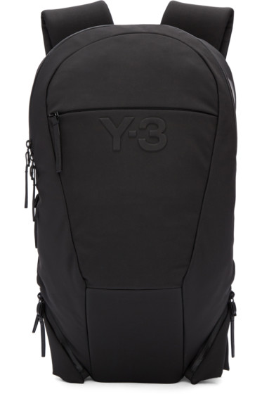 Y-3 - Black Vest Backpack