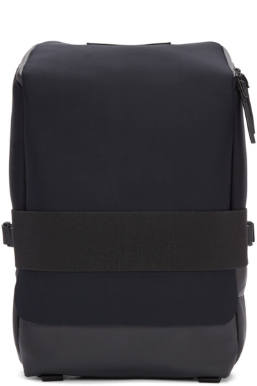 Y-3 - Black Neoprene Small Qasa Backpack