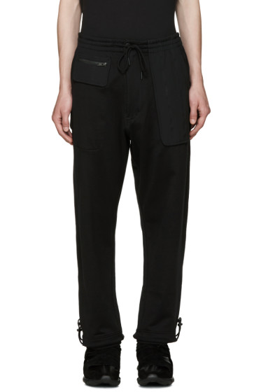 Y-3 - Black FT Mix Lounge Pants