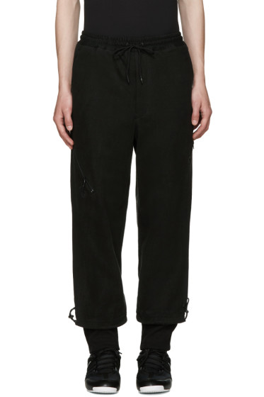 Y-3 - Black Grain JSY Lounge Pants