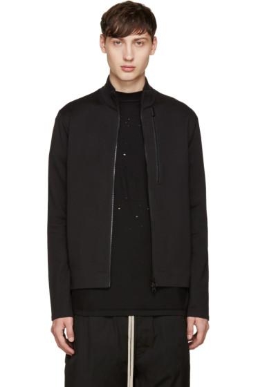 Y-3 - Black 3S FT Zip Sweater