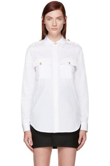 Dsquared2 - White Sergeant Shirt