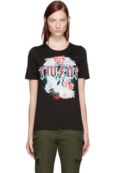 Dsquared2 - Black 'Twins' T-Shirt