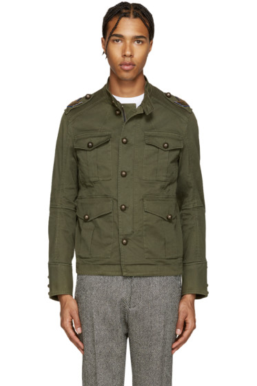 Dsquared2 - Green Golden Arrow Jacket