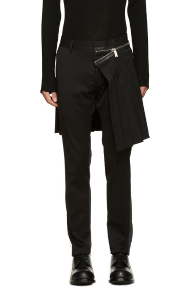 Dsquared2 - Black Admiral Kilt Trousers
