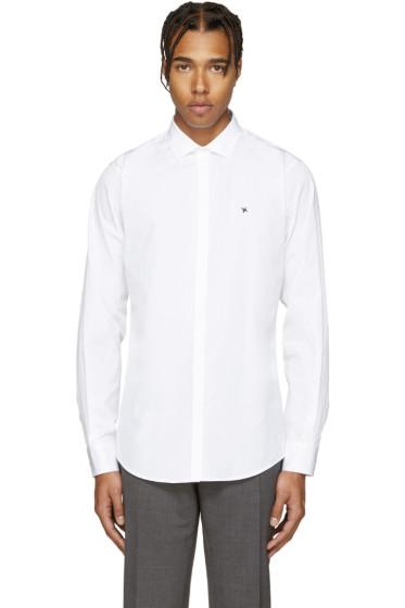 Dsquared2 - White Poplin Barbwire Shirt