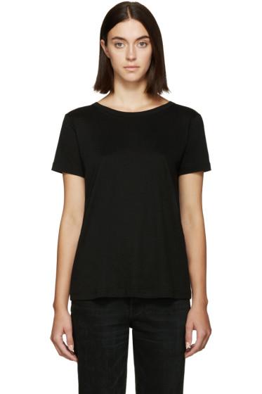Helmut Lang - Black Back Tie T-Shirt
