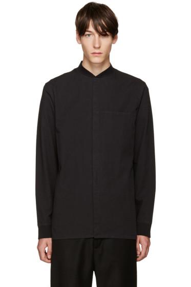Helmut Lang - Black Bomber Shirt