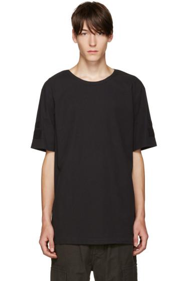 Helmut Lang - Black Oversized T-Shirt