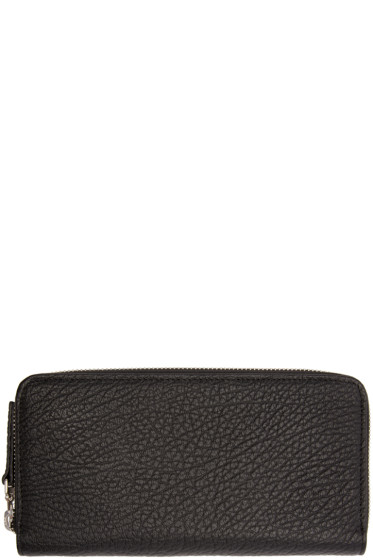 Maison Margiela - Black Leather Wallet