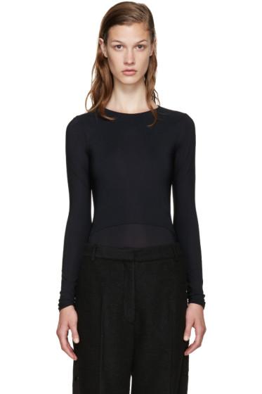 Maison Margiela - Black Layered Bodysuit