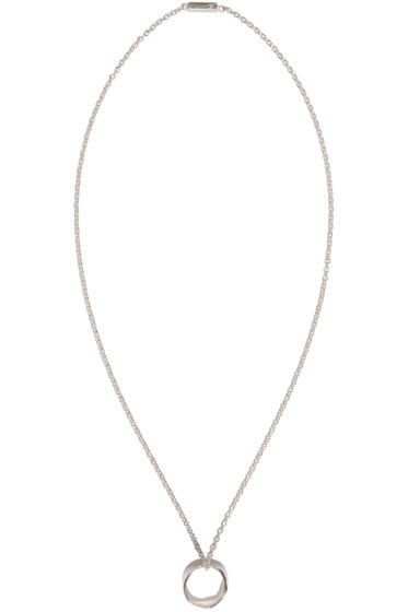 Maison Margiela - Silver Ring Necklace