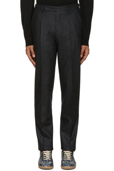 Maison Margiela - Grey Wool Trousers