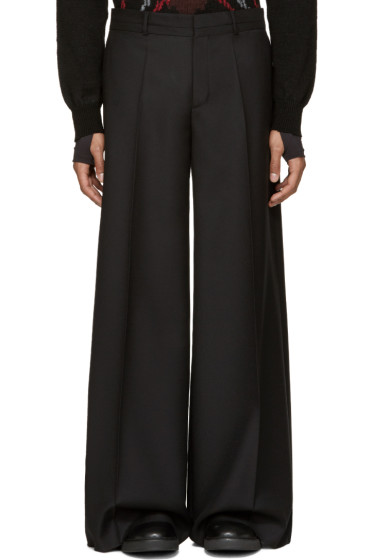 Maison Margiela - Black Wide-Leg Trousers