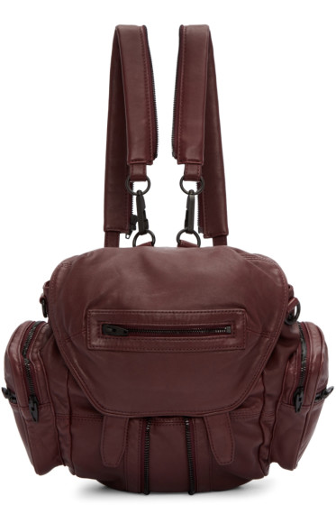 Alexander Wang - Burgundy Mini Marti Backpack