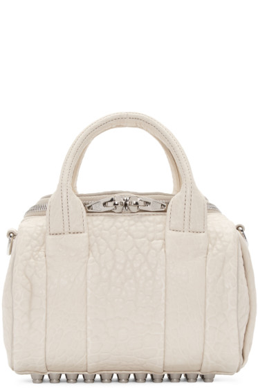 Alexander Wang - Ivory Mini Rockie Bag