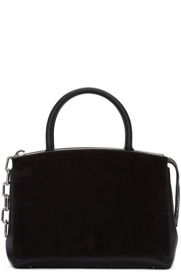 Alexander Wang - Black Large Attica Flap Marion Bag
