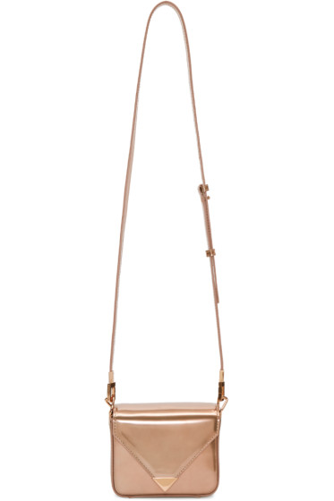 Alexander Wang - Rose Gold Mini Prisma Envelope Bag