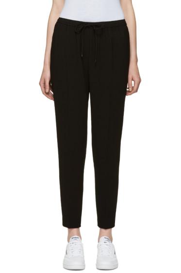 Alexander Wang - Black Drawstring Trousers