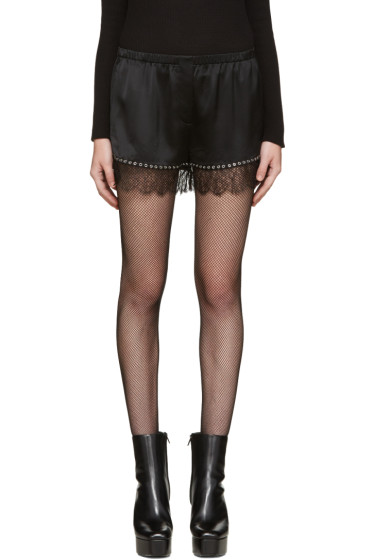 Alexander Wang - Black Bloomer Shorts