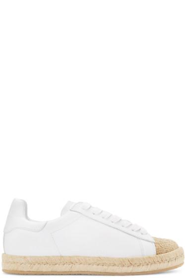 Alexander Wang - White Rian Espadrille Sneakers