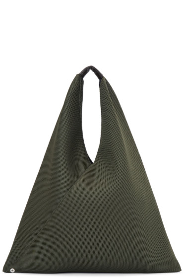 MM6 Maison Margiela - Green Mesh Tote