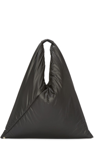 MM6 Maison Margiela - Black Pouch Tote