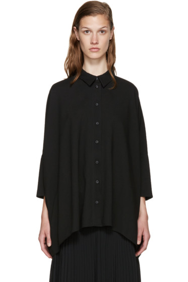 MM6 Maison Margiela - Black Viscose Shirt