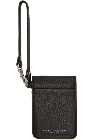 Marc Jacobs - Black Gotham City Commuter Card Holder