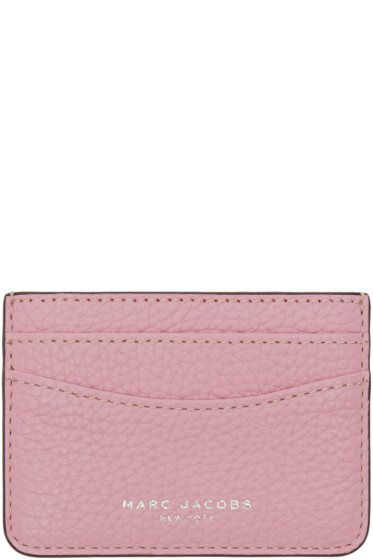 Marc Jacobs - Pink Gotham Card Holder