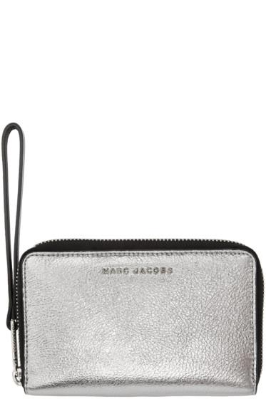 Marc Jacobs - Silver & Black Wingman Wallet