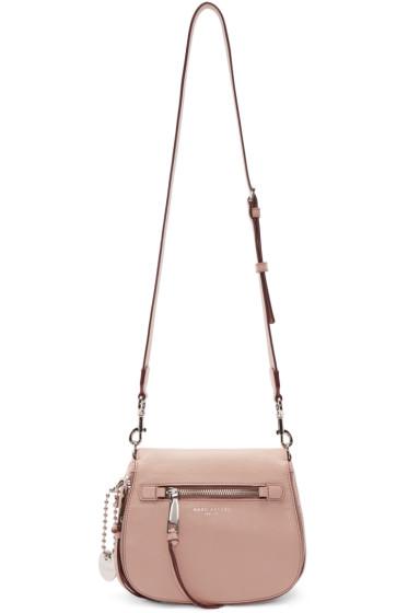 Marc Jacobs - Pink Small Recruit Saddle Bag