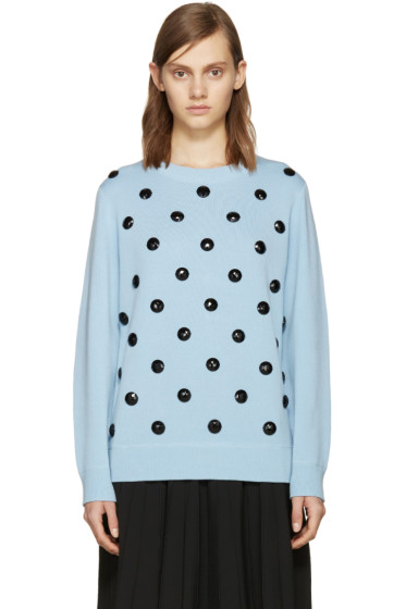 Marc Jacobs - Blue Embellished Sweater