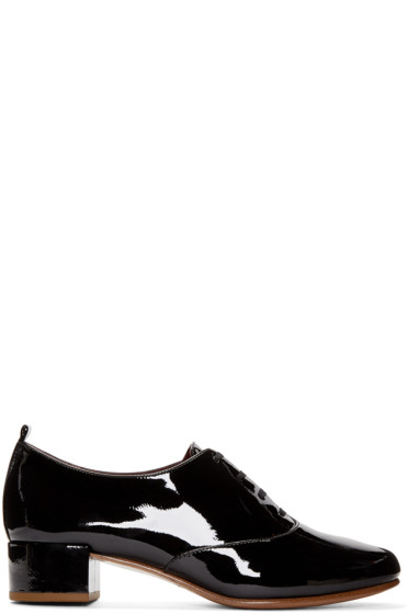 Marc Jacobs - Black Patent Betty Oxfords