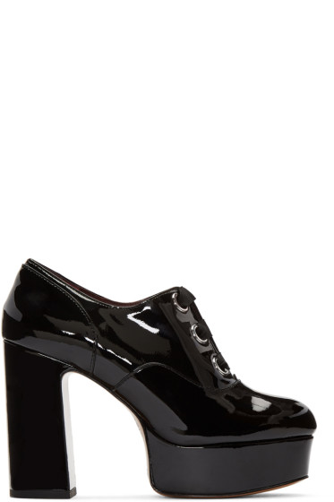 Marc Jacobs - Black Patent Leather Beth Heels