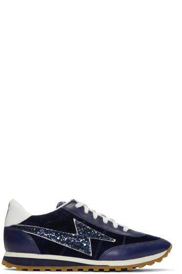 Marc Jacobs - Navy Astor Jogger Sneakers