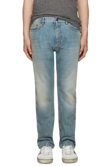 Marc Jacobs - Blue Straight-Leg Jeans