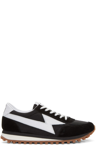 Marc Jacobs - Black Runner Jogger Sneakers