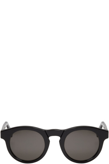 Super - Black Round Boy Sunglasses