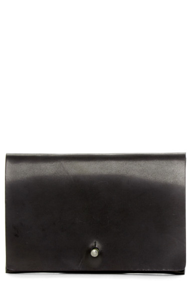 Rick Owens - Black Flat Wallet