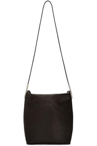 Rick Owens - Black Leather Adri Bag