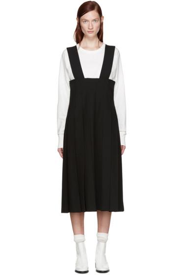 Comme des Garçons - Black Pleated Suspender Dress