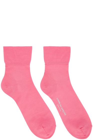 Comme des Garçons - Pink Short Socks