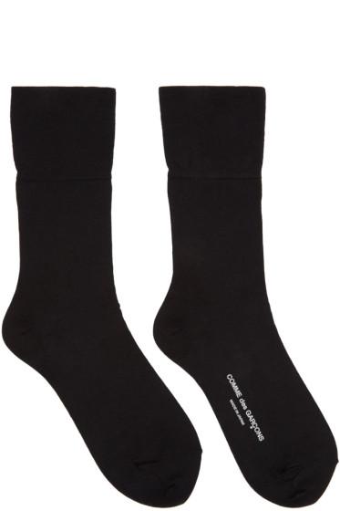Comme des Garçons - Black Long Socks